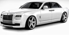 Rolls-Royce Ghost с екстравагантен тунинг пакет